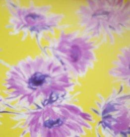 MOOILOOP MOOILOOP - Organza Zijde Paarse bloemen