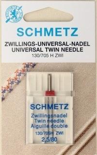 Tweelingnaalden Schmetz