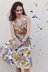 La Maison Victor Jacquard met bloemenmotief en stretch