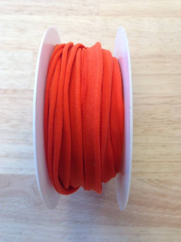 Elastische paspel oranje col. 9033