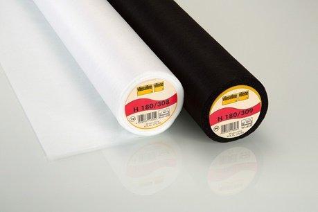 Vlieseline H180 zwart/wit