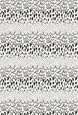 Art Gallery Fabrics Art Gallery Fabrics Sprayed Doodles Noir