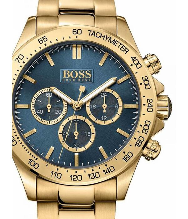Hugo Boss 10 ATM 1513340 44mm Ikon Goud