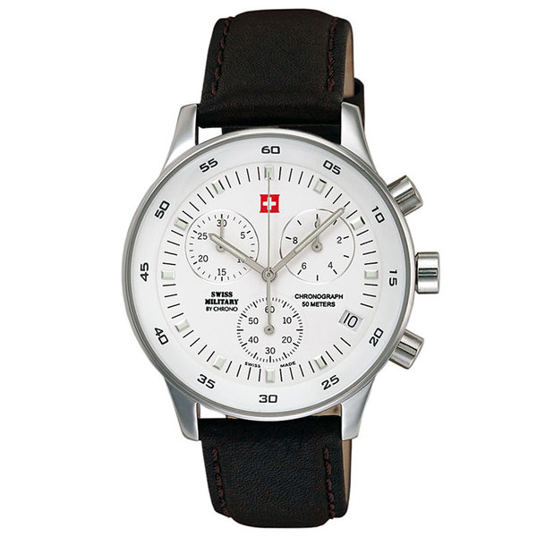 SWISS MILITARY by CHRONO Horloge - SM30052.04 - 41 mm