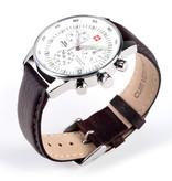 SWISS MILITARY by CHRONO Horloge - SM30052.04 - 41 mm