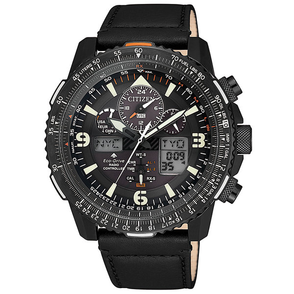 Citizen JY8085-14H Promaster Sky chronograaf 45 mm 20ATM