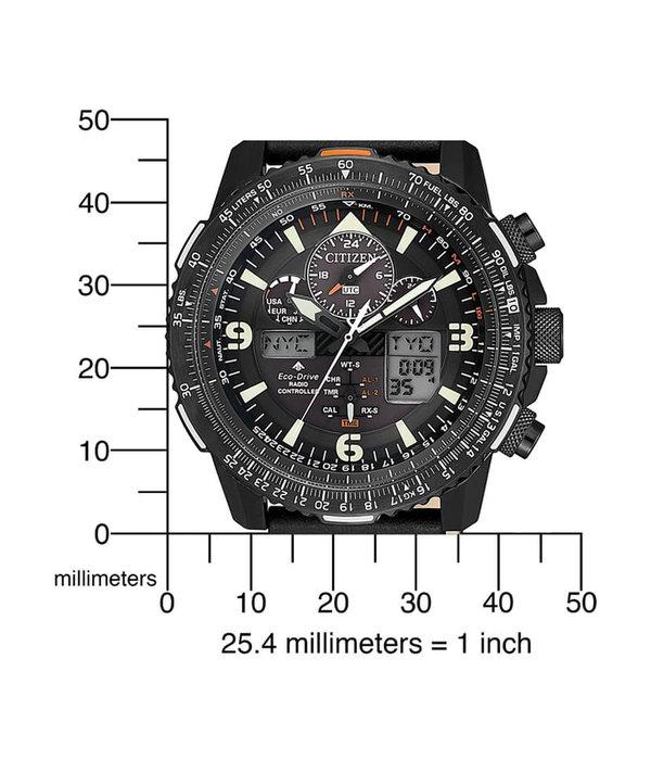 Citizen JY8085-14H Promaster Sky chronograaf 45 mm 20ATM