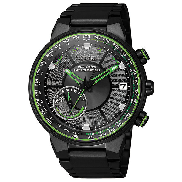 Citizen CC3075-80E Satellite Wave heren GPS 44 mm 10ATM