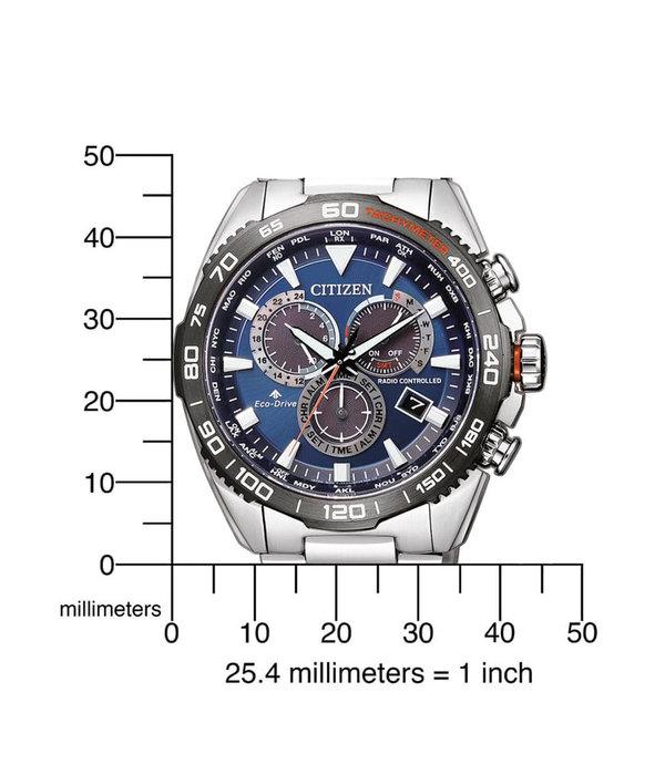 Citizen CB5034-82L Promaster Sky heren chronograaf 45 mm 20ATM
