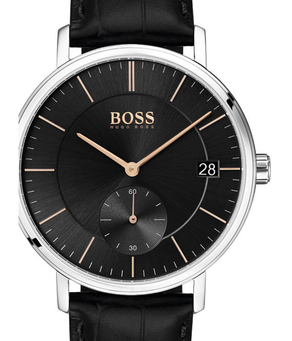 Hugo Boss 1513638 Corporal heren 40mm 3ATM