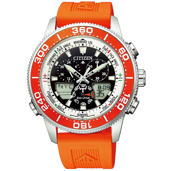 Citizen Eco-Drive JR4061-18E Promaster Marine Yacht heren 44mm 20ATM