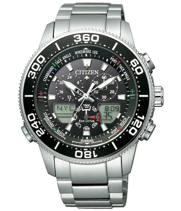Citizen Eco-Drive JR4060-88E Promaster Marine Yacht heren 44mm 20ATM