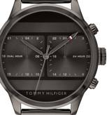 Tommy Hilfiger 1791597 Dual Time Heren 44mm 5ATM