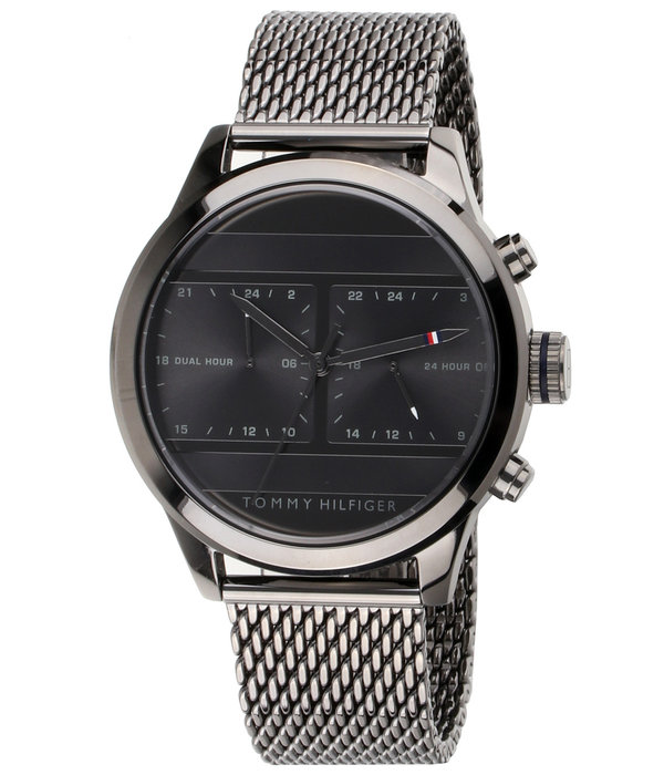 Tommy Hilfiger 1791597 Dual Time Heren 44mm 5ATM