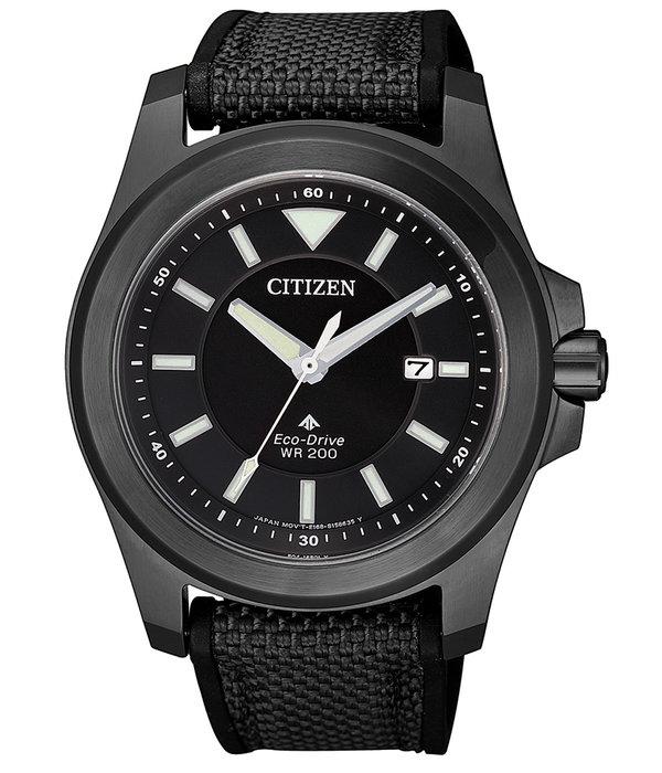 Citizen Eco-Drive BN0217-02E Promaster Tough heren 41mm 20ATM