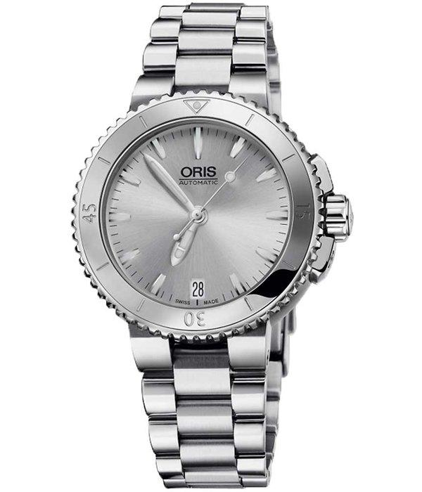 Oris Oris 0173376524141-0781801P Aquis Dames 36mm 30ATM