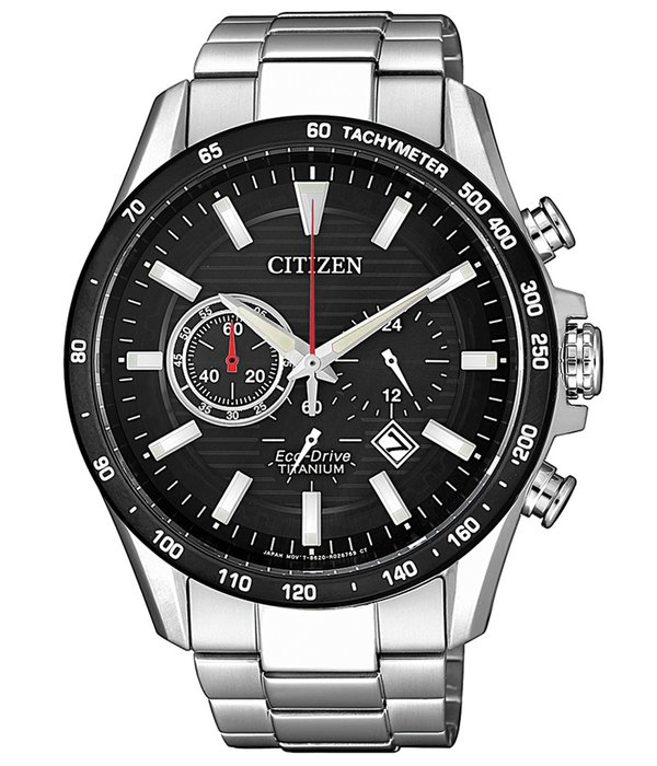 Citizen CA4444-82E Eco-Drive Titanium chronograaf heren 43mm 10ATM