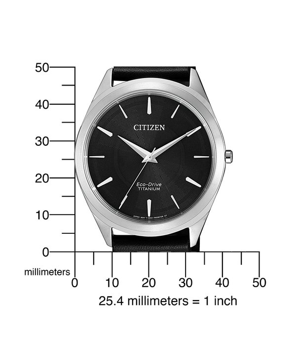 Citizen BJ6520-15E Eco-Drive Titanium heren 39mm 5ATM