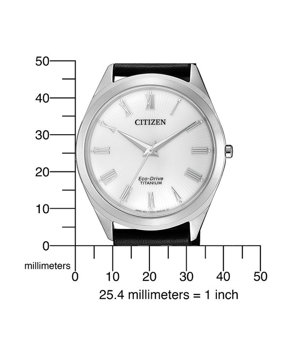 Citizen BJ6520-15A Eco-Drive Titanium heren 39mm 5ATM