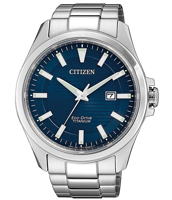 Citizen BM7470-84L Eco-Drive Titanium heren 43mm 10ATM