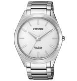 Citizen BJ6520-82A Eco-Drive Titanium heren 39mm 5ATM