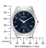 Citizen BJ6520-82L Eco-Drive Titanium heren 39mm 5ATM