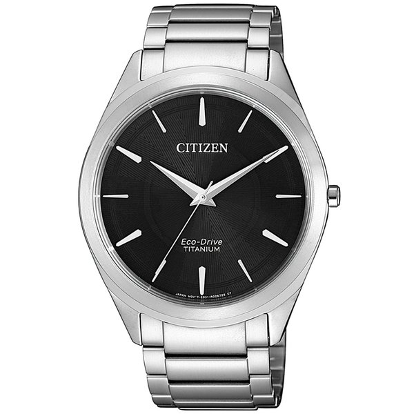Citizen BJ6520-82E Eco-Drive Titanium heren 39mm 5ATM
