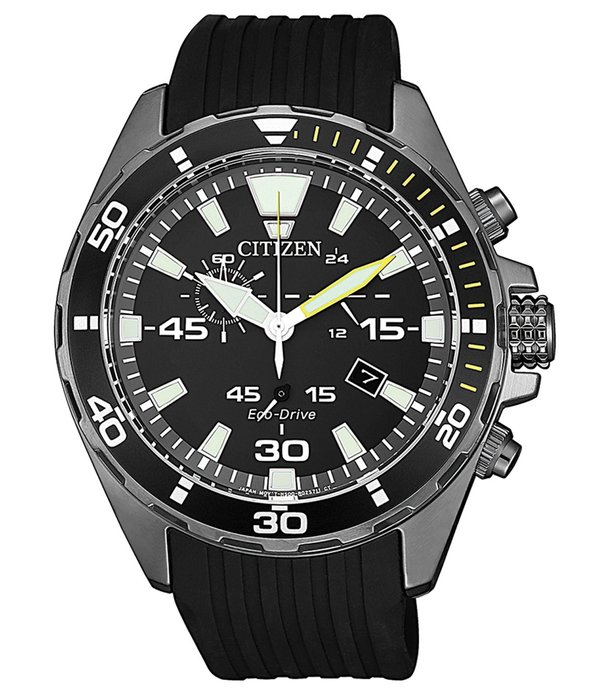 Citizen AT2437-13E Eco-Drive chronograaf 43mm 10ATM