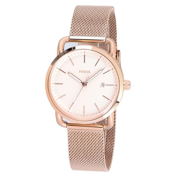 Fossil ES4333 The Commuter 3 Dames 34 mm 5 ATM