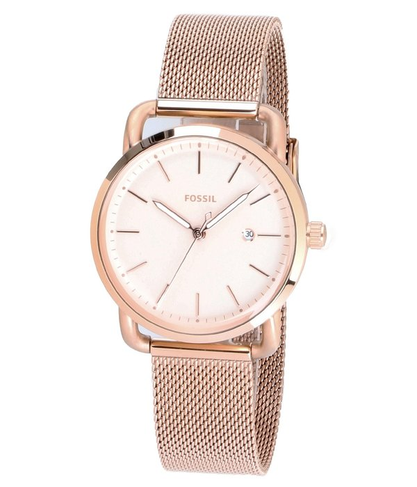 Fossil Fossil ES4333 The Commuter 3 Dames 34 mm 5 ATM