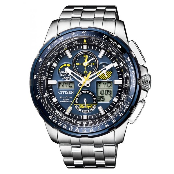 Citizen JY8058-50L heren Promaster-Sky Blue-Angels radiogestuud 48mm 20ATM