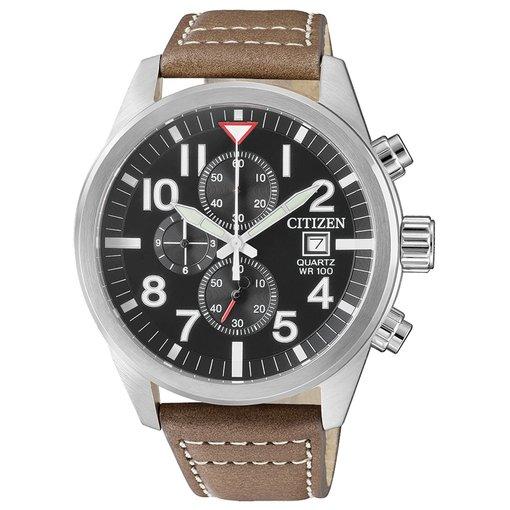 Citizen AN3620-01H chronograaf 43mm 10ATM