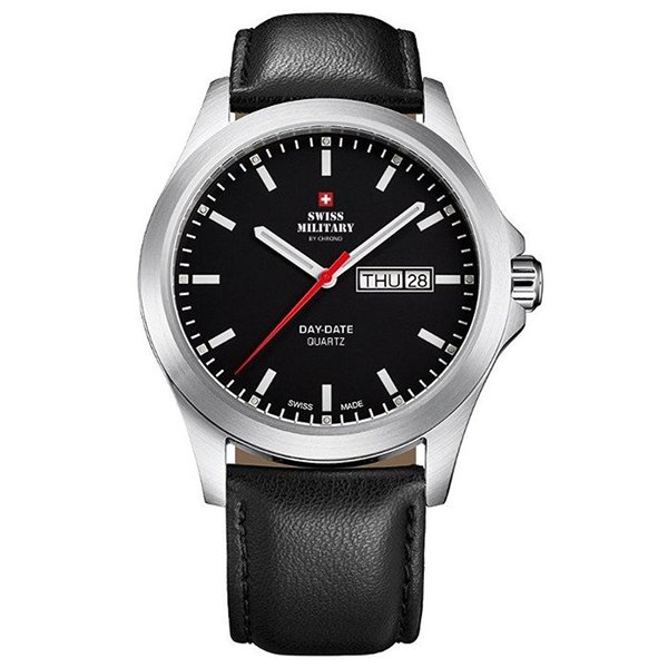 Swiss Military SMP36040.11 heren 42mm 5ATM