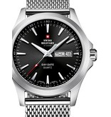 Swiss Military SMP36040.01 heren 42mm 5ATM