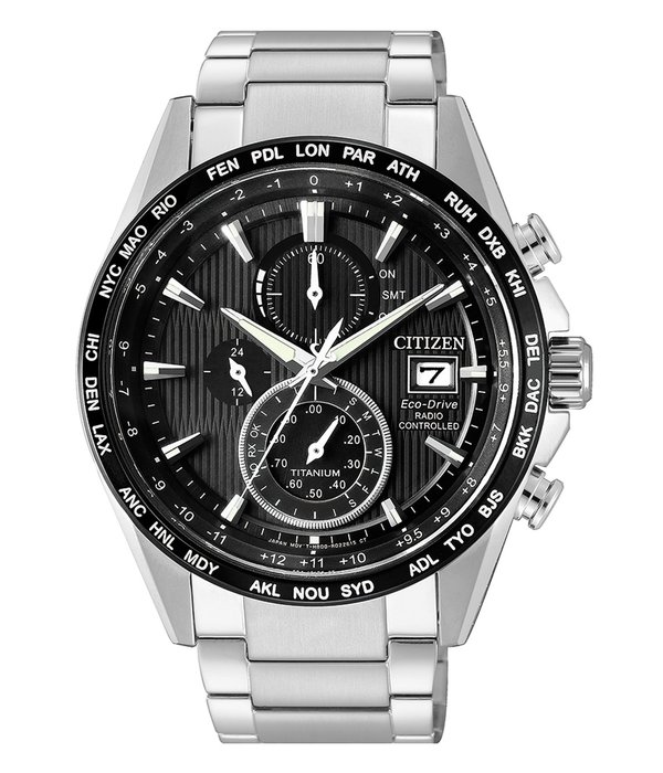 Citizen AT8154-82E Eco Drive Chronograaf 42mm 10ATM