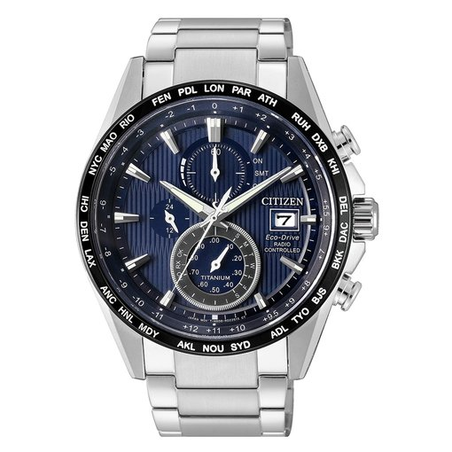 Citizen AT8154-82L Eco Drive Chronograaf 42mm 10ATM