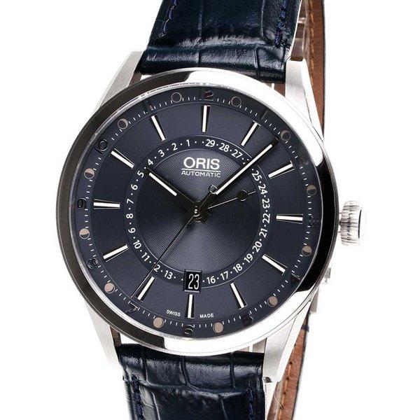 Oris Artix Swiss Automatisch Blauw 42mm 10ATM 0176176914085