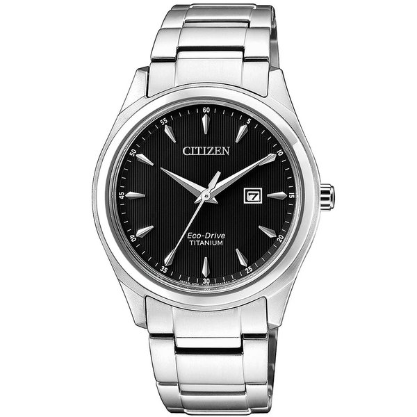 Citizen EW2470-87E Eco-Drive Super Titanium 34mm 5ATM