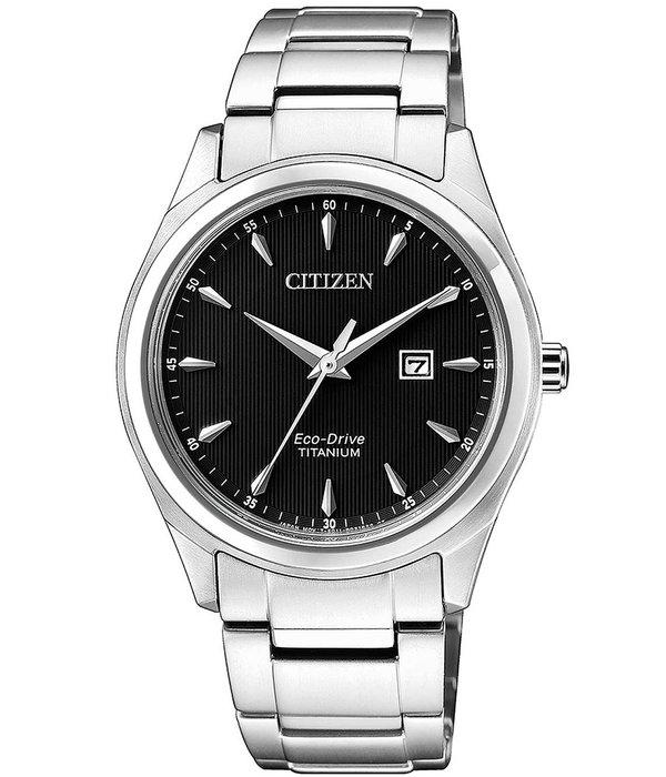 Citizen EW2470-87E Eco-Drive Super Titanium Dames 34mm 5ATM