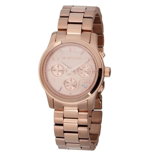 Michael Kors MK5128 Runway Chronograaf Dames 38 mm 10 ATM