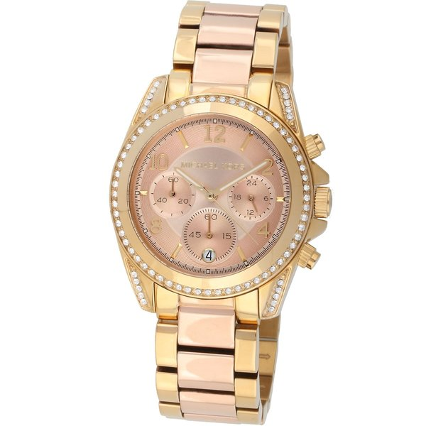 Michael Kors MK6316 Blair Chronograaf Dames 39 mm 10 ATM