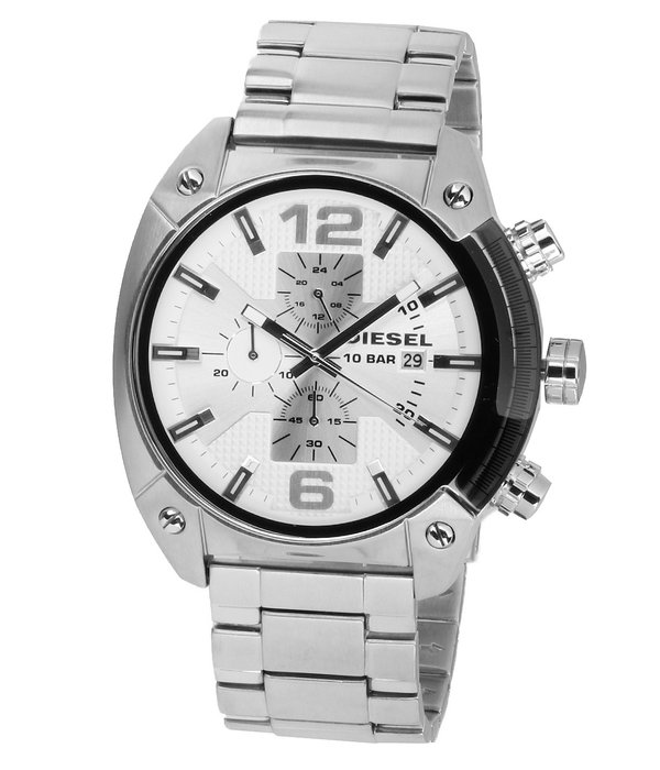 Diesel Diesel DZ-42.03 Overflow Chronograaf Heren 46 mm