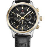 Swiss Military 34052.10 chronograaf saffierglas 42mm 10ATM