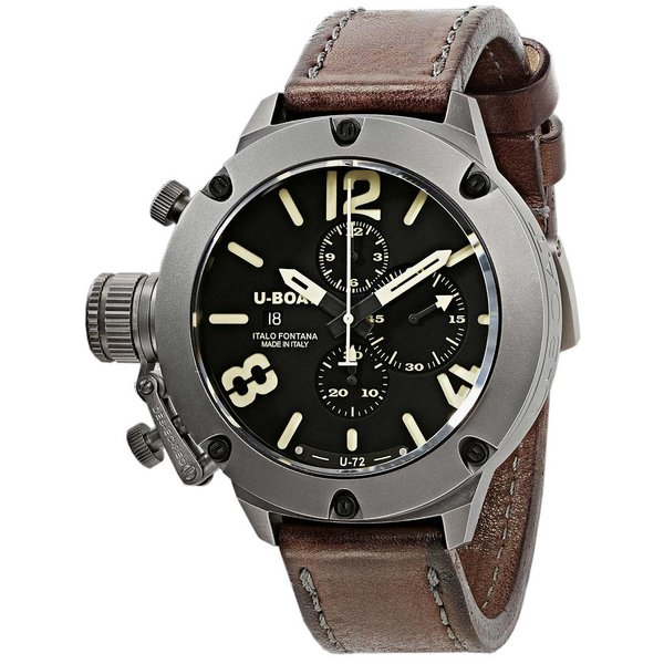 U-Boat 6549/T Classico 53mm chronograaf