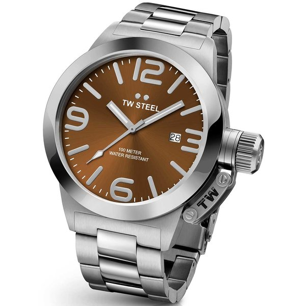 TW-Steel CB22 Canteen 50mm 10ATM