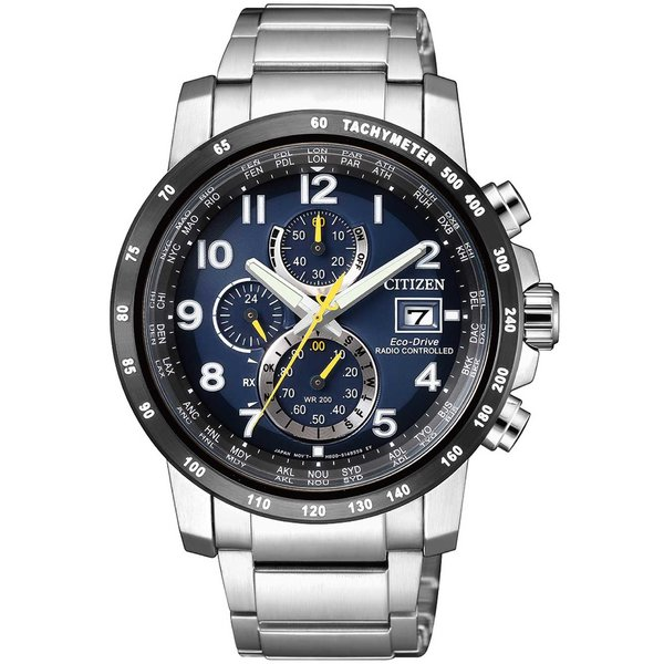 Citizen AT8124-91L Eco-Drive chronograaf 43mm 20ATM