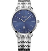 Hugo Boss 1513261 Swiss-Made Heren 42 mm 3 ATM Saphire