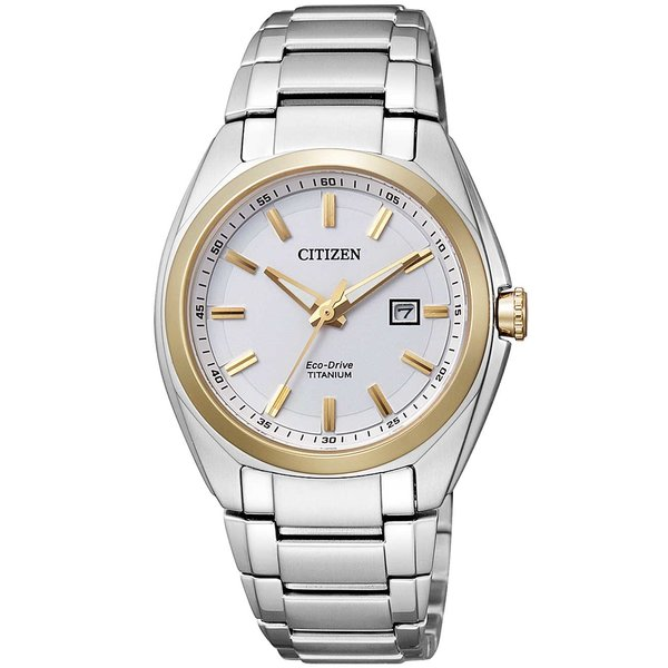 Citizen 221452A Eco-Drive Super-Titanium 34mm 10ATM