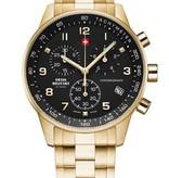 Swiss Military SM34012.12 chronograaf 41mm 5ATM