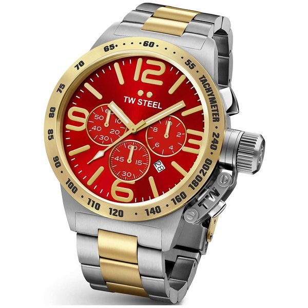 TW-Steel CB 74 Red Gold